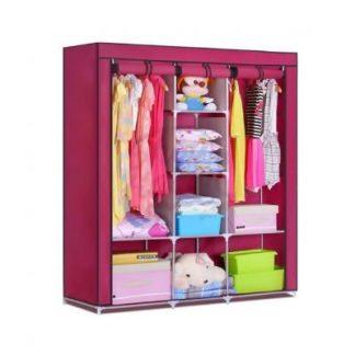 мобильный тканевый шкаф storage wardrobe.