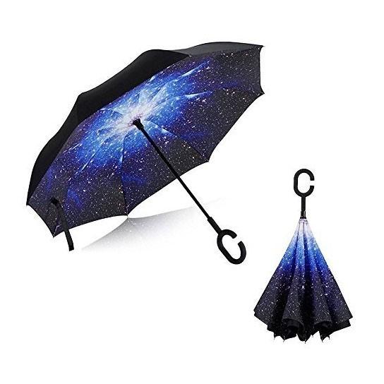 купить зонт наоборот (обратный зонт) up-brella.