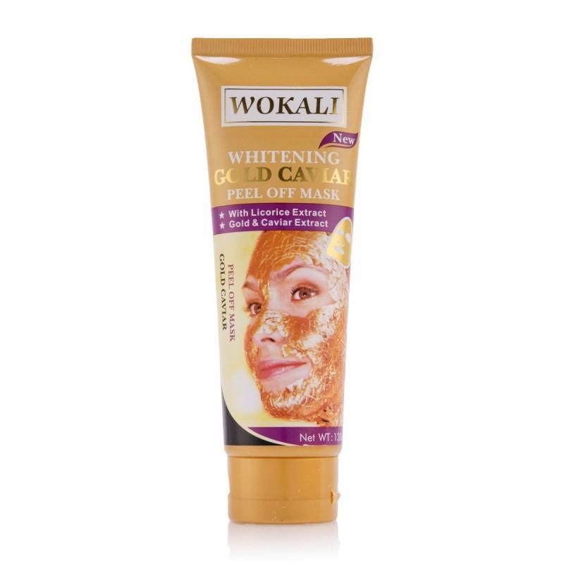 маска для лица - золотая маска wokali whitening gold.