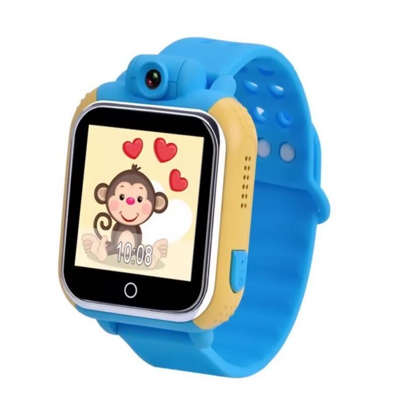умные детские часы q100 с gps трекером и камерой.
