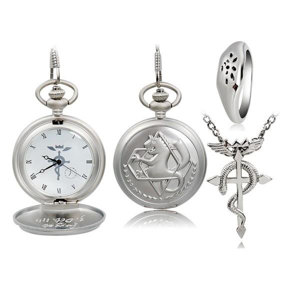 купить часы, кулон и кольцо эдварда элрика из.