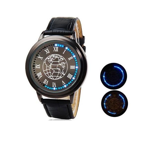 светодиодные led бизнес часы nexer earth | лучшее.