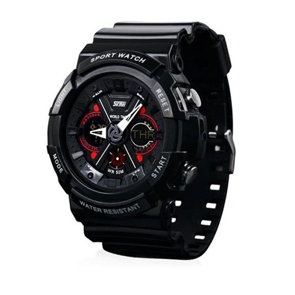 купить брутальные спортивные часы skmei 0966.