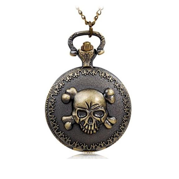 карманные часы череп   купить в москве   цена - 646 руб