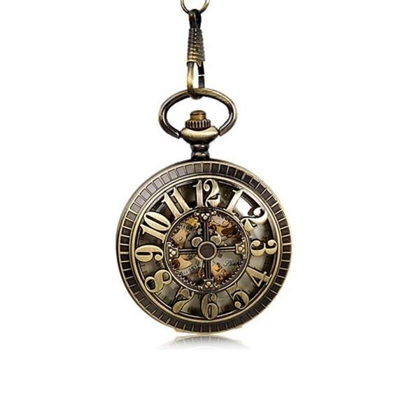 винтажные механические карманные часы с тремя.