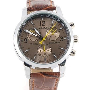 модные кварцевые часы - коричневые купить по цене.